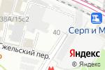Схема проезда до компании Опция 1 в Москве