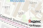 Схема проезда до компании Людис в Москве