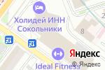Схема проезда до компании Holiday Inn в Москве