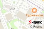 Схема проезда до компании Опять 25 в Москве