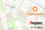 Схема проезда до компании Конти-сервис в Москве