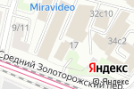 Схема проезда до компании Au-room в Москве