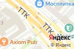 Схема проезда до компании AromaUPru в Москве