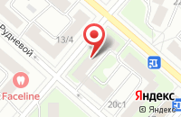 Схема проезда до компании ВитаДент в Москве
