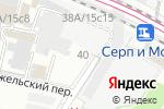 Схема проезда до компании Нияма в Москве
