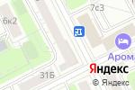 Схема проезда до компании Кухни-лебеди в Москве