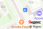 Схема проезда до компании Moment of life в Москве