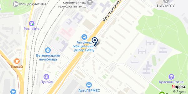 Артэкс мобайл на карте Москве