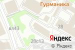 Схема проезда до компании АДА в Москве