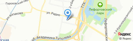 Туполев Плаза на карте Москвы