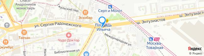 площадь Рогожская Застава