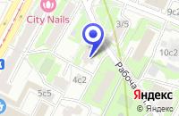 Схема проезда до компании АВТОТРАНСПОРТНАЯ КОМПАНИЯ АМУЛЕТ в Москве