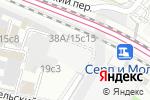 Схема проезда до компании ЮНИСТРИМ в Москве
