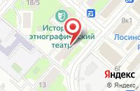 Схема проезда до компании Зелёные продукты в Москве