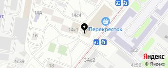 DLED на карте Москвы