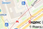 Схема проезда до компании Смешные цены №1 в Москве