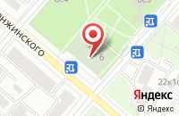 Схема проезда до компании Актион-реклама в Москве