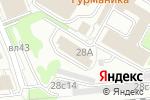 Схема проезда до компании Лаго в Москве