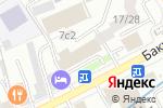 Схема проезда до компании Атомэнергопроект в Москве