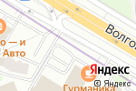 Схема проезда до компании МОНЕТНЫЙ ДВОР в Москве