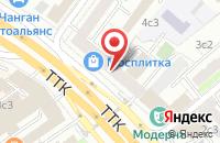 Схема проезда до компании Капитошка в Москве