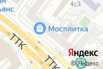 Схема проезда до компании Sova lounge в Москве