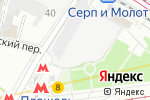 Схема проезда до компании Ёлки-Палки в Москве