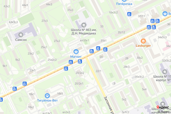 Ремонт телевизоров Район Нагатинский затон на яндекс карте