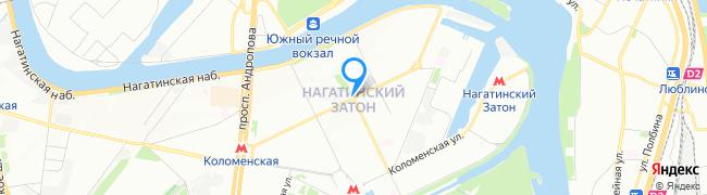 район Нагатинский затон