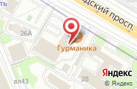 Схема проезда до компании Международная Академия Оценки и Консалтинга в Москве