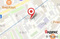 Схема проезда до компании Твм в Москве