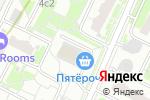Схема проезда до компании Трансфер Экспресс в Москве