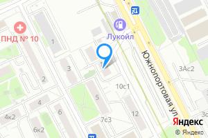 Сдается комната в двухкомнатной квартире в Москве м. Кожуховская, Южнопортовая улица, 10