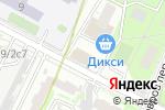 Схема проезда до компании Меридиан Лайн в Москве