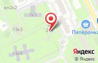 Схема проезда до компании Кинокомпания «Полет» в Москве