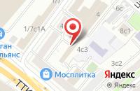 Схема проезда до компании Управление Организации Проектных Работ в Москве
