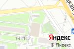 Схема проезда до компании Загорье в Москве
