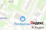 Схема проезда до компании Аметист-групп в Москве