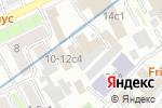 Схема проезда до компании Интерфин трейд в Москве