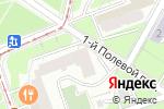 Схема проезда до компании Tour Tennis в Москве