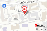 Схема проезда до компании Универс Принт в Москве