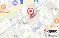 Схема проезда до компании Объединенные Линии Связи в Москве