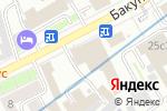 Схема проезда до компании Алла Принт в Москве