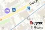 Схема проезда до компании ПакТрейдМаш в Москве