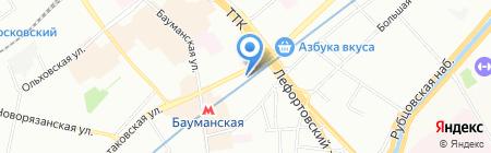 ПакТрейдМаш на карте Москвы