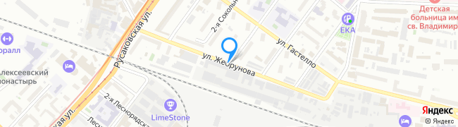 улица Жебрунова