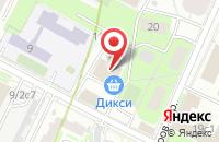 Схема проезда до компании Буревестник в Москве