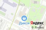 Схема проезда до компании ПИР Банк в Москве