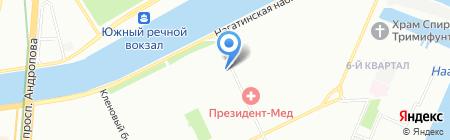 КДП-Кейтеринг на карте Москвы