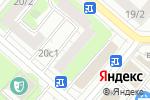 Схема проезда до компании Все для бани в Москве